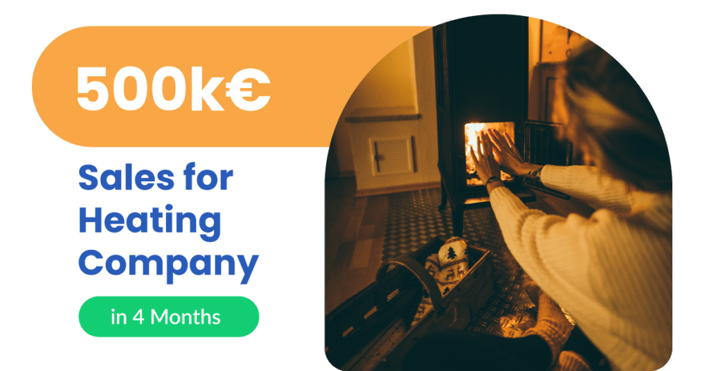 10 heating company 02 sales with chatbots 500k€ Sales for Heating Company in 4 Months