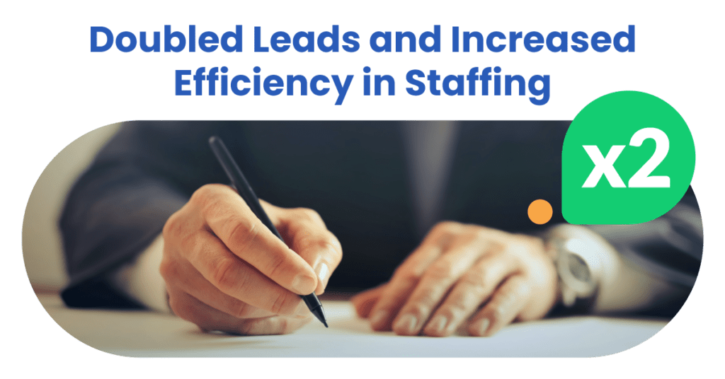Leadoo helps recruiting companies generate more leads