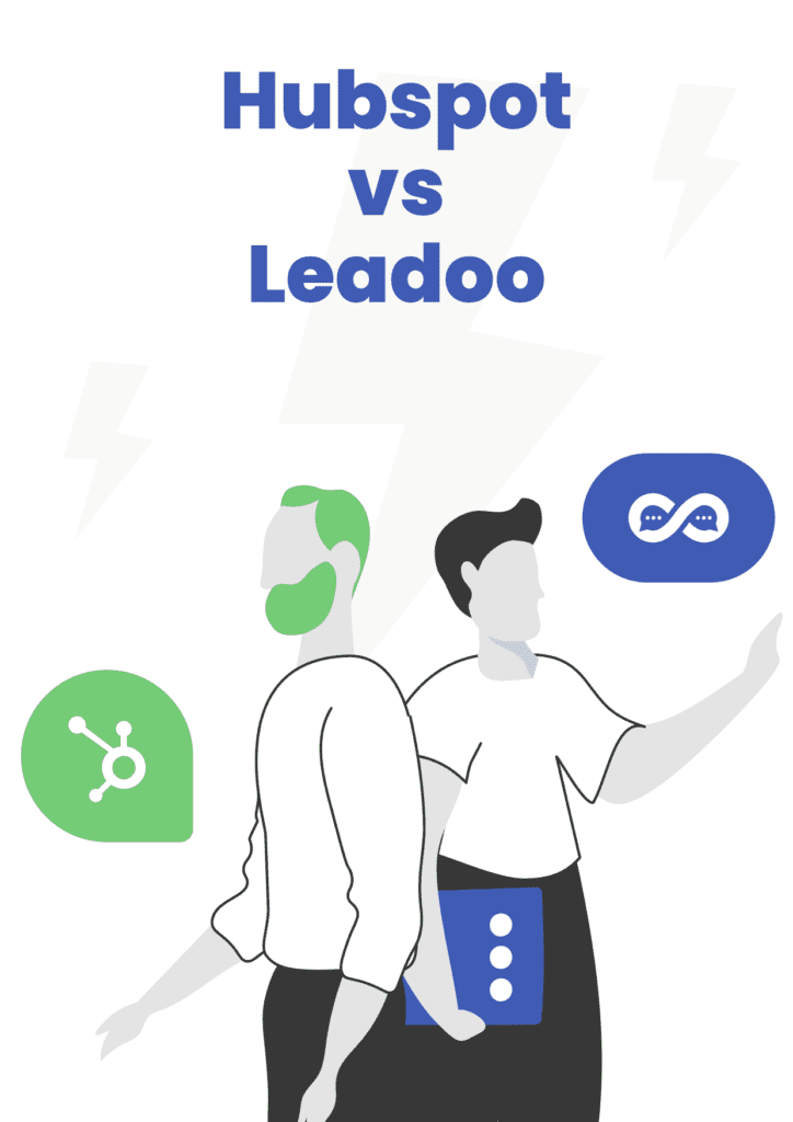 Hubspot Leadoo intercom and drift This Is How We Challenge Giants like HubSpot, Intercom and Drift