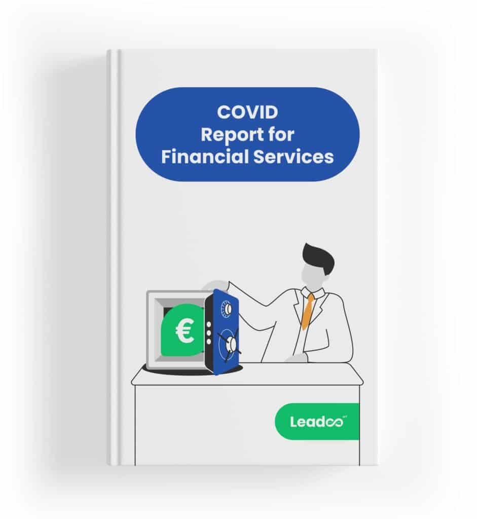 Financial services Preview cover Integrate WhatsApp & Messenger on your website Covid-19 report for Finance sector in the UK