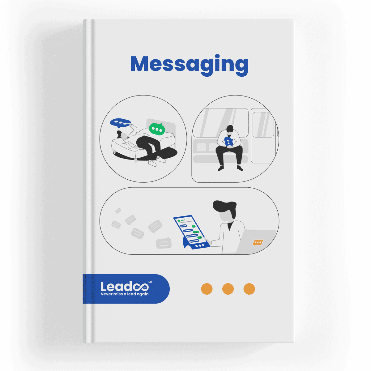 Engage with prospects on and off your website with Leadoo Messaging