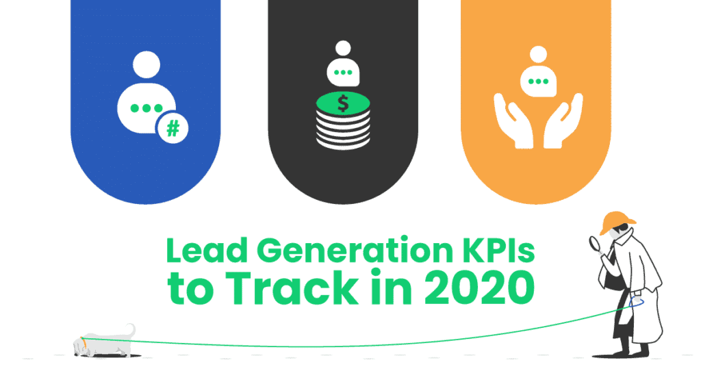featured image for the blog post: the most important lead generation kpis to track