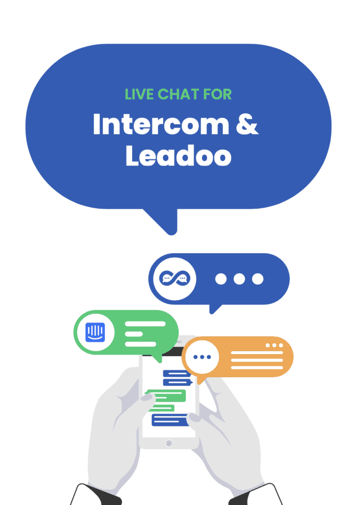 intercom vs leadoo guide cover intercom live chat Intercom vs. Leadoo for Live Chat and Messaging