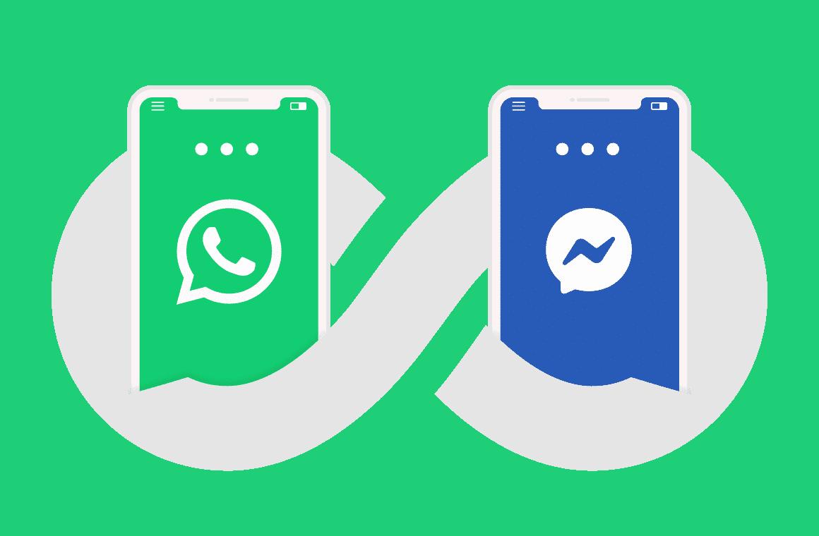 Koppla mot whatsapp och facebook messenger