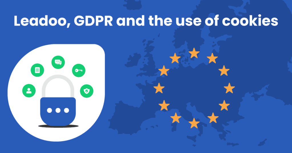 GDPR EU flag and map