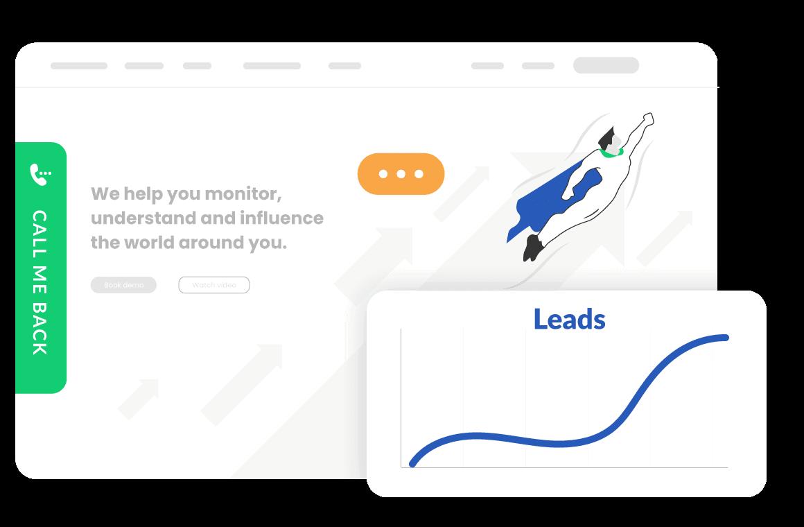 CallBackBot genererar leads och nya kunder med ljusets hastighet