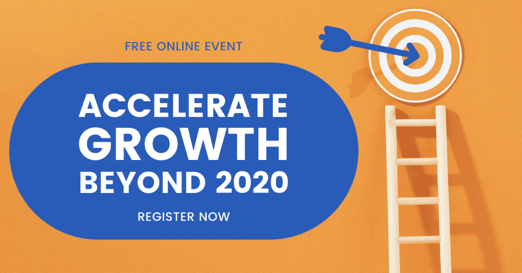 Online event: Accelerate Growth beyond 2020