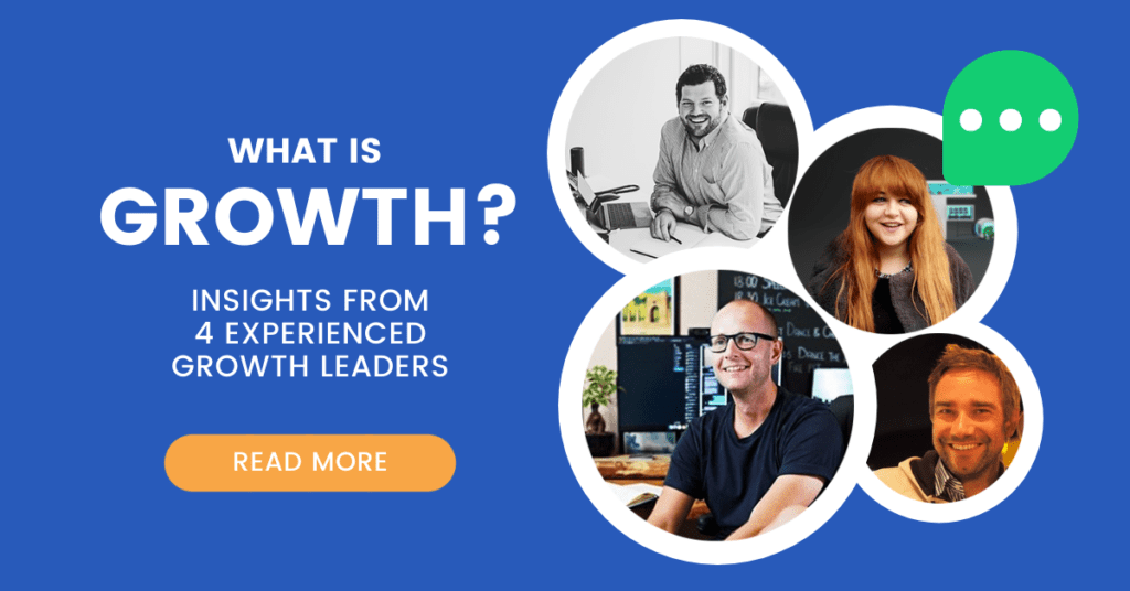 what is growth? insights from 4 growth leaders, blog featured image