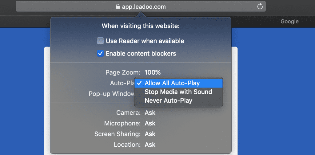 pasted image 0 5 how to enable browser notifications How to enable sound settings for your Leadoo notifications?
