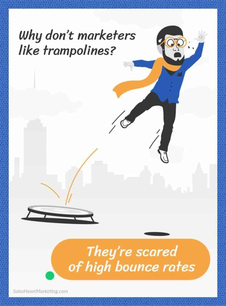 Marketing cartoon Leadoo N02 SalesHeartMarketing