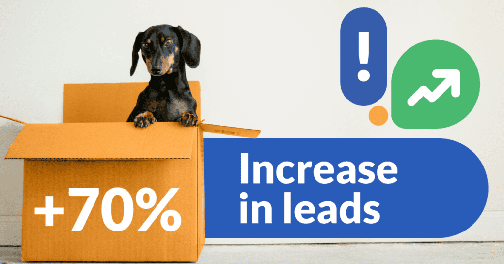 Ref muutto 02 laatutakuu Digitalising Sales and Recruitment Processes. A hefty +70% increase in leads