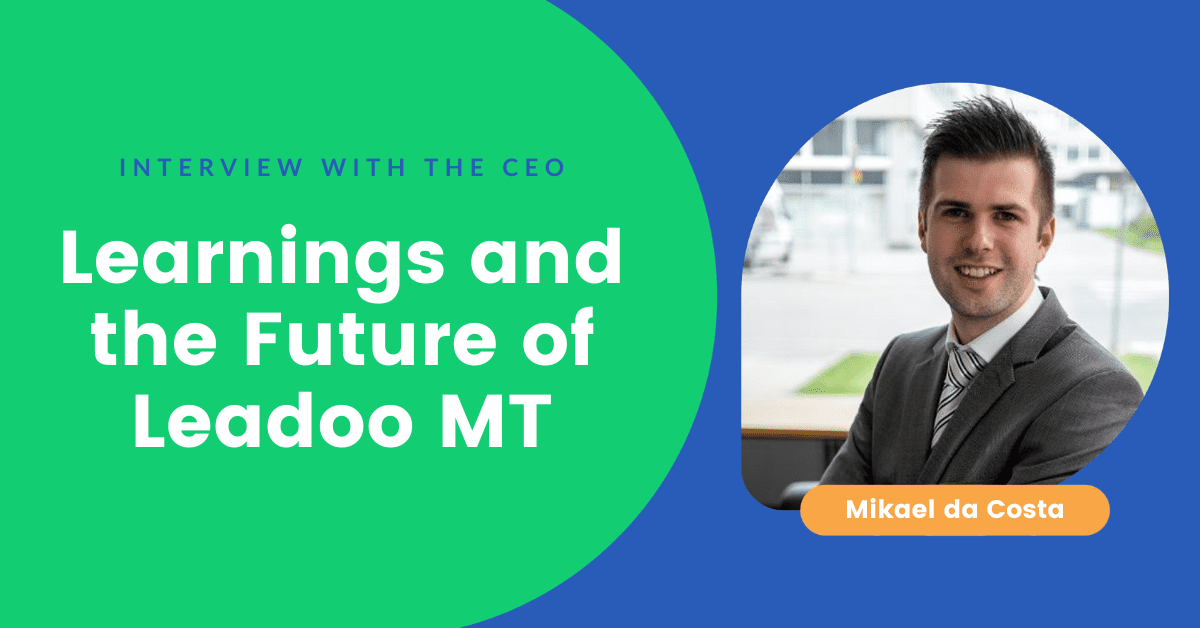 2020 Learnings and the Future of Leadoo MT