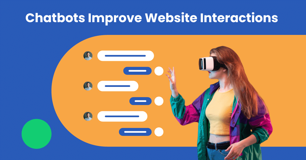 Chatbots simplify product choice and improve website interactions