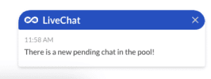 new pending livechat how to use leadoo live chat How to start chatting in Leadoo Live Chat?