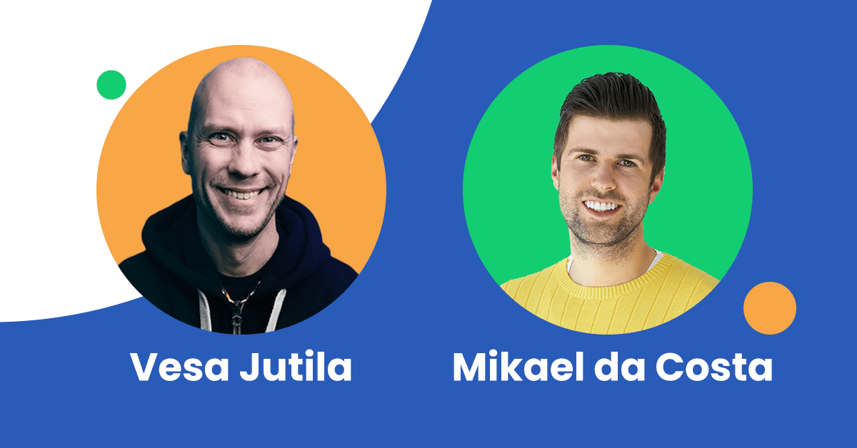 Vesa Jutila appointed as our new CEO as founder Mikael da Costa takes the role of Chief Product Officer