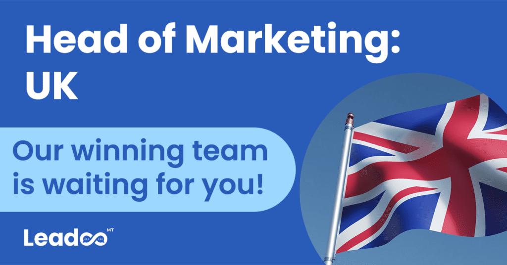 featured image head of marketing Head of Marketing, UK