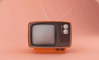 3d retro tv Support
