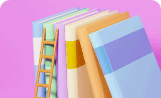 education concept 3d books clock pink background modern flat design isometric concept education back school Support