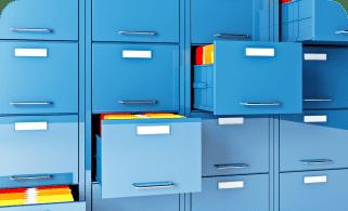 file cabinet folder 3d image Support