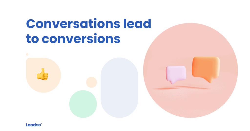 Option 03 conversation conversions Conversations lead to conversions