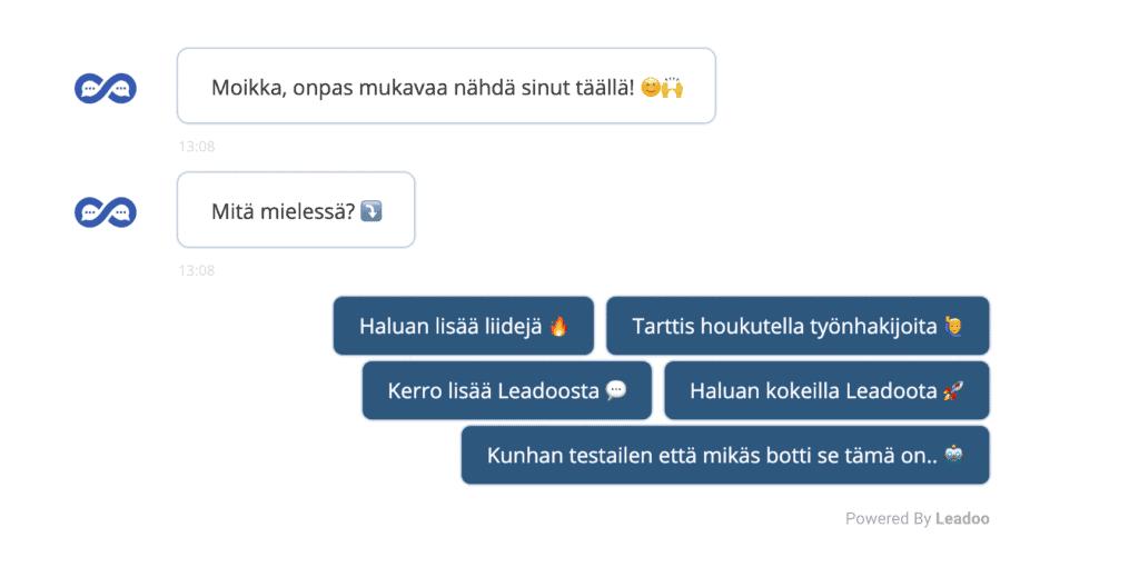 Bottikuva botti Miten rakentaa konvertoiva botti? – 5 vinkkiä hyvään bottiviestintään