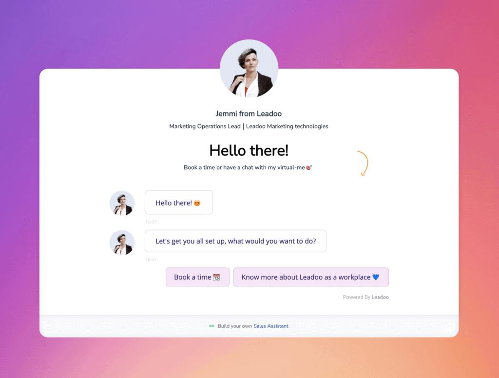 Screenshot 2021 10 04 at 16.09.09 Leadoo Sales Assistant