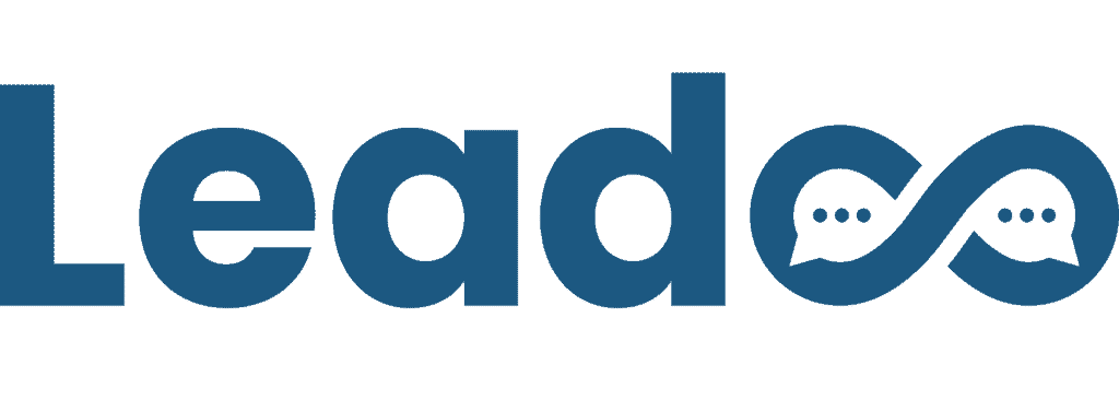 leadoo logo blue new leadoo Leadoo – Missa aldrig ett lead igen